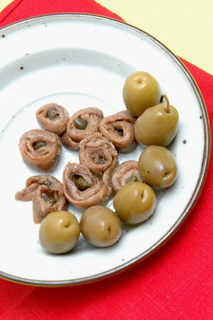 anchovies and olives as appetizers