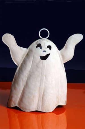 horrify: a ghost on seasonal colors Stock Photo