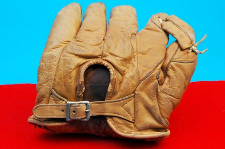 antique baseball glove from the 1800s Stock Photo - 236616