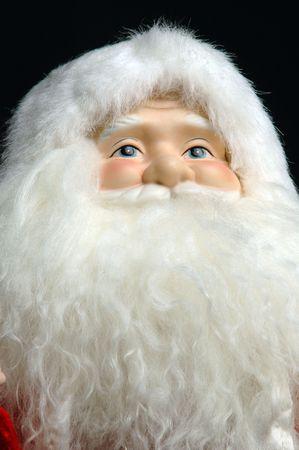 long beard: santa with a long beard