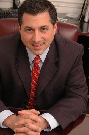 trustworthy: trustworthy smiling business person 592