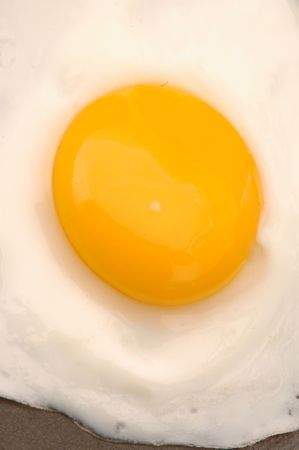 sunnyside: egg fried 521 Stock Photo