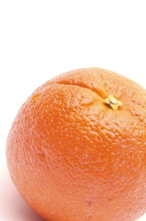 navel orange: navel orange vertical Stock Photo