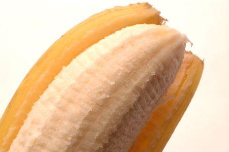 platano maduro: pl�tanos maduros pelados macro
