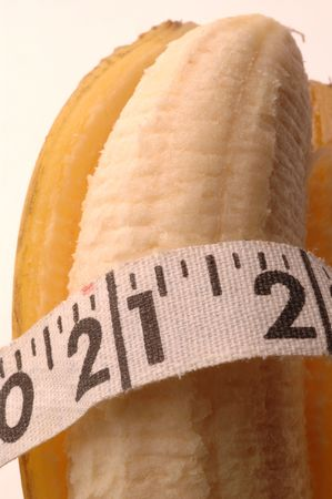 banana for the weight conscious macro detail photo