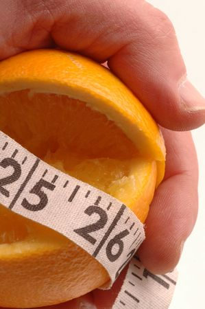 navel orange: navel orange to lose weight Stock Photo