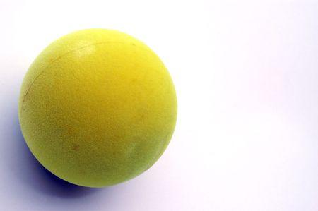 one paddle ball detail shot