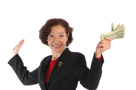 materialistic: donna piacevole con contanti 807