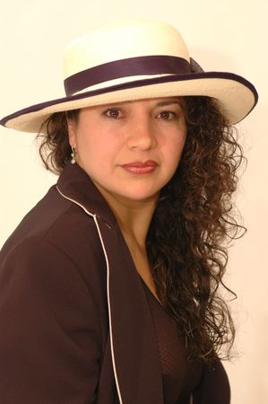 beautiful hispanic woman with character 1043 Stock Photo - 337175