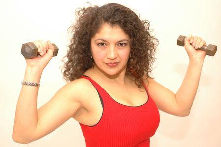 sexy latin lady exercising Stock Photo - 337166