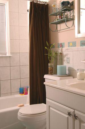 浴室施設 写真素材