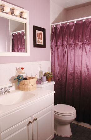 廊下のバスルーム