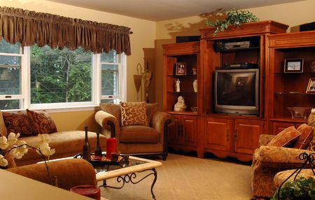 comfortable living room Stock Photo - 423635