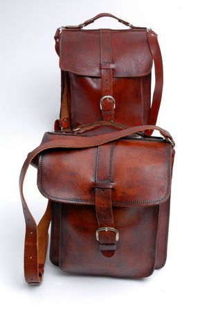 leather bags handmade group of sizes vertical