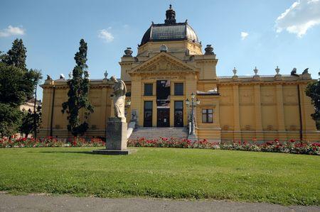 zagreb: public pavillion zagreb croatia