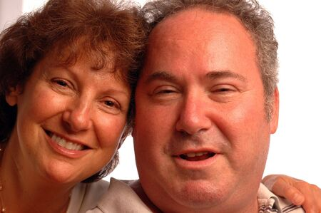happy and confident loving couple Banco de Imagens - 538205