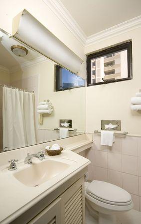 america centrale: Hotel bagno in america centrale moderno pulito  Archivio Fotografico