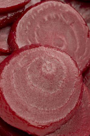 healthful: rodajas de remolacha vista macroecon�mico saludable hortalizas ra�ces