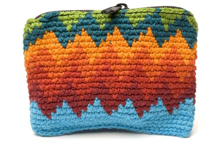 change purses: change purse key holder souvenir central america Stock Photo