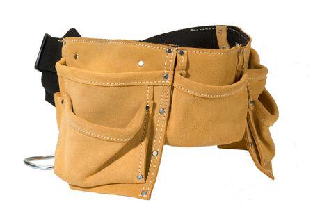 dovere: strumento pesanti cintura in pelle di camoscio lavoro grembiule con tasche