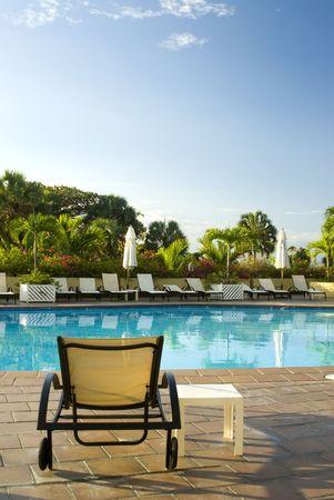 swimming pool luxury hotel on the malecon santo domingo, dominican republic