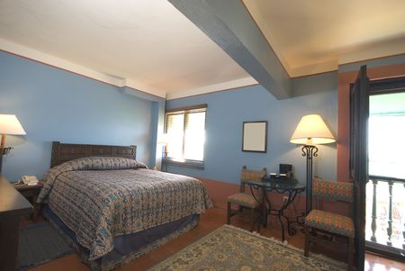 suite room in luxury hotel old san juan, puerto rico former convent photo