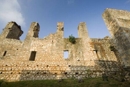 santo: monastery of san francisco ruins santo domingo dominican republic