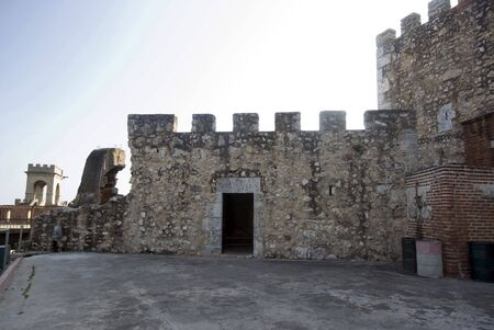 fortaleza ozama prison military complex santo domingo dominican republic tower of homage photo