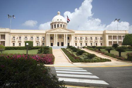 dominican republic: palacio nacional the national palace santo domingo dominican republic beautiful government building Stock Photo