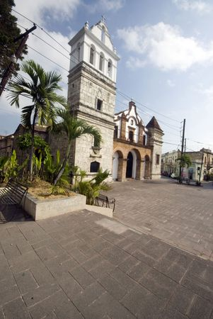 juan: church where juan pablo duarte was baptized santo domingo dominican republic Stock Photo