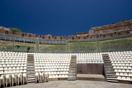 taormina sicily italy greek-roman theater