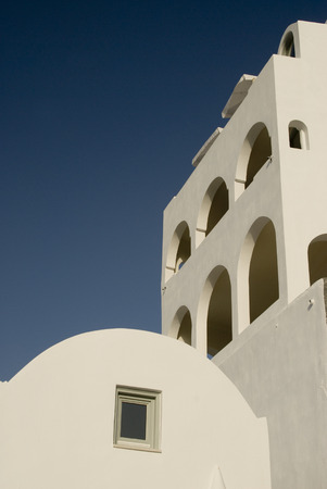 greek island architecture cyclades building with arches white stucco