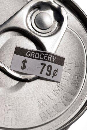 reciclable: reciclable de aluminio con precio puede etiqueta adjunta