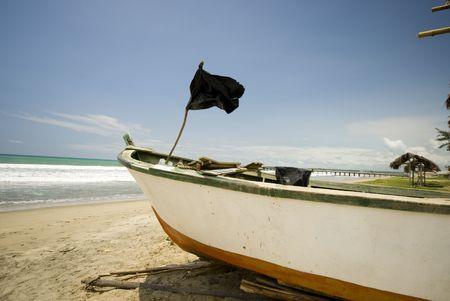 sol: fishing boat pacific ocean ruta del sol ecuador south america
