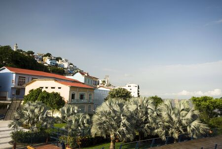 guayaquil: view of las penas from malecon 2000 historic district art center guayaquil ecuador