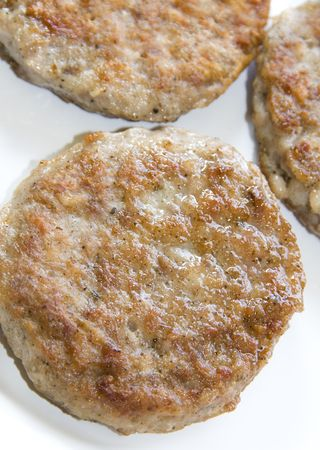 all natural cooked pork sausage patties breakfast