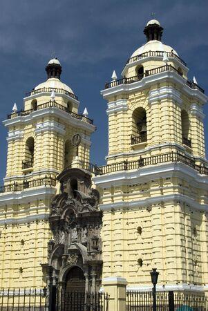 iglesia church of san francisco detail lima peru basilica famous south america Stock Photo - 3242676