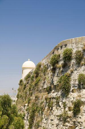 sentry: sentry post lookout city gate valletta malta mediterranean europe