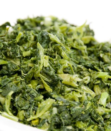 chopped: chopped mustard greens green leafy vegetable
