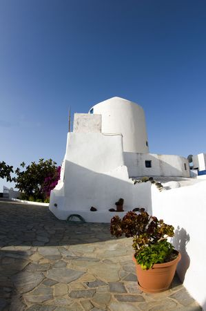 ia: greek island house classic cyclades style architecture santorini ia oia greece