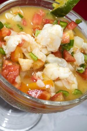 lobster ceviche cebiche seviche fresh citrus marinated corn island nicaragua central america