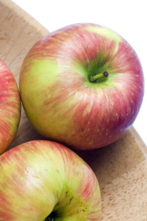 honeycrisp variety of apples crisp juicy and sweet a cross between macoun and honey gold grown in canada Stock Photo
