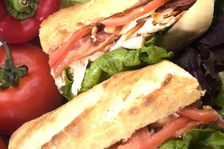 sandwich au poulet: gourmet bison pain panini sandwich au poulet bacon fromage bleu