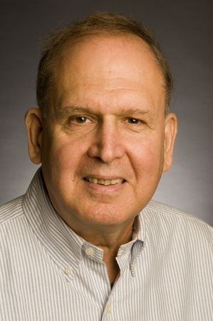 retired senior corporate business executive portrait