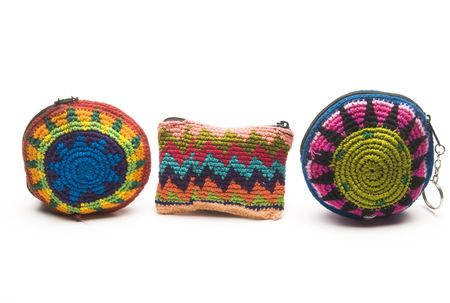 change purses: colorful purses coin change holders made in panama and guatemala central america