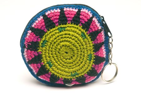 colorful purse coin change holders made in guatemala central america
