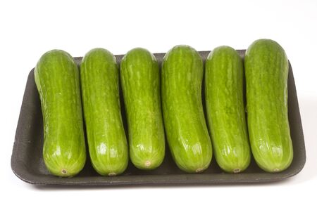 package of persian mini seedless cucumbers