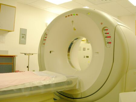 cat scan medical testing machine in radiology lab