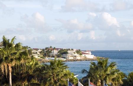 simpson: hotel villa development beach  Simpson bay St. Maarten St. Martin Caribbean Island