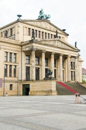 Concert Hall Konzerthaus  in The Gendarmenmarkt Berlin Germany Europe Stock Photo - 14022083